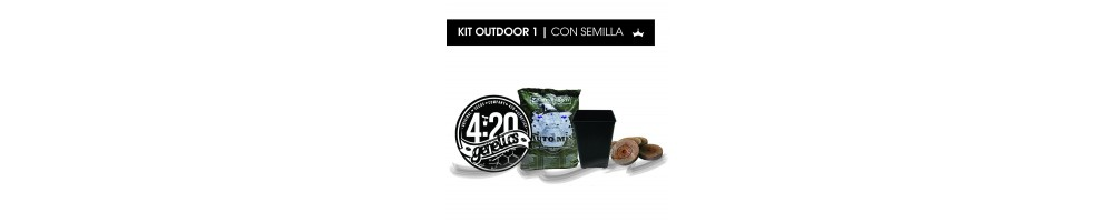 Kit Outdoor con Semillas