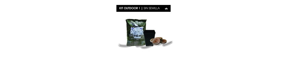 Kit Outdoor sin Semillas
